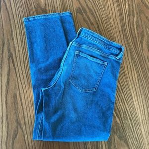 NWOT Gap Denim Straight Blue Jeans, 31 Regular